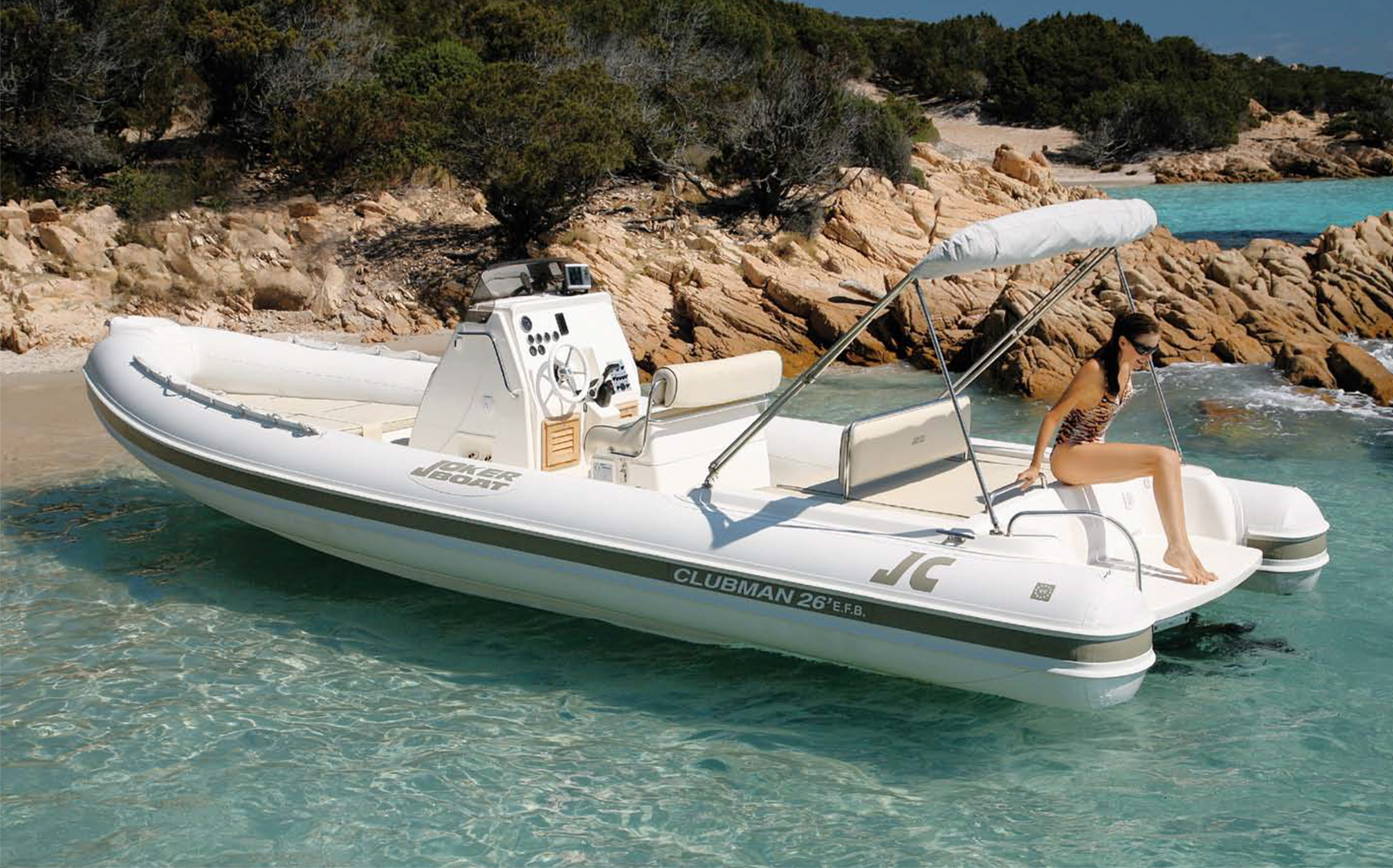 Jokerboat Clubman 26′ EFB